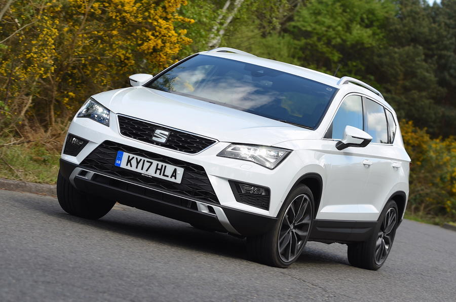 seat ateca 1 4 ecotsi 150 xcellence dsg 2017 review autocar. Black Bedroom Furniture Sets. Home Design Ideas
