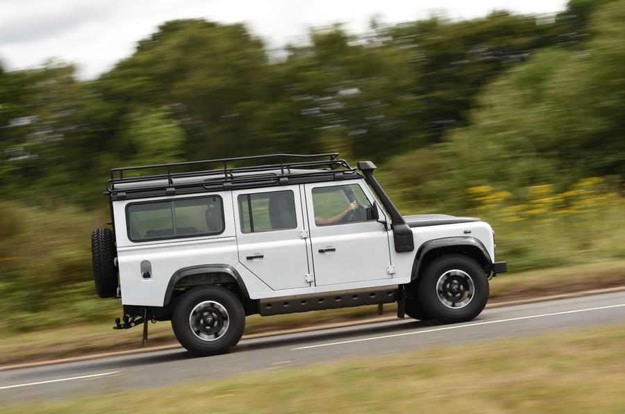 Original 2015 Land Rover Defender 110 Adventure UK Review Review