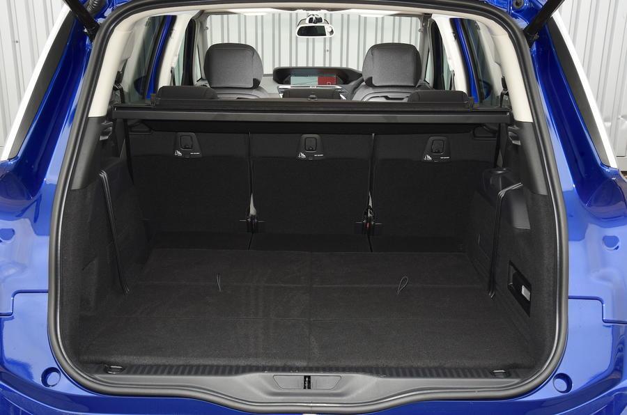 Citroën C4 Grand Picasso boot space