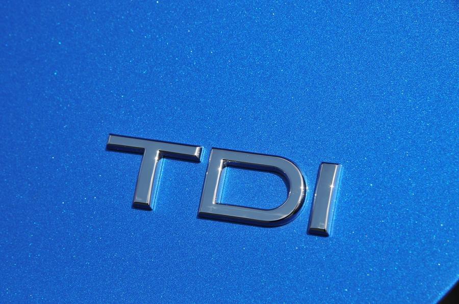 Audi A3 Sportback 2.0 TDI badging