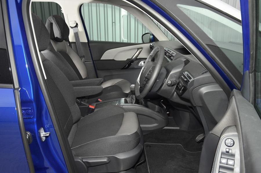 2016 citro n grand c4 picasso review review autocar - Citroen c4 grand picasso interior ...