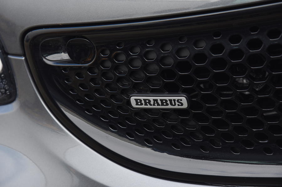 2017 Smart Forfour Brabus Xclusive