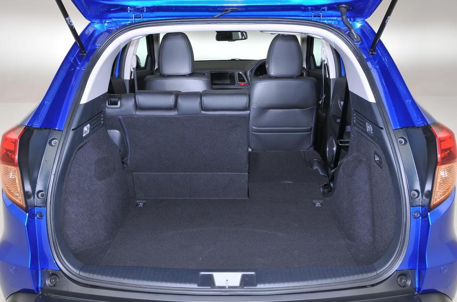 Honda HR-V seat down