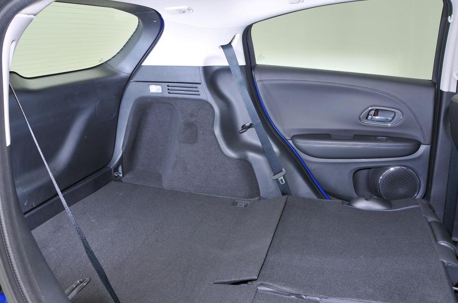 Honda HR-V extended boot space