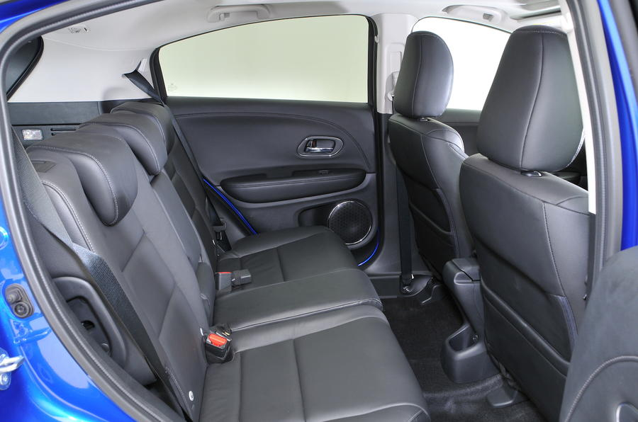 Honda HR-V rear seats