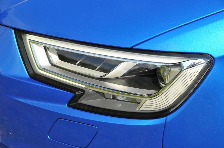 Audi A3 Sportback LED headlights