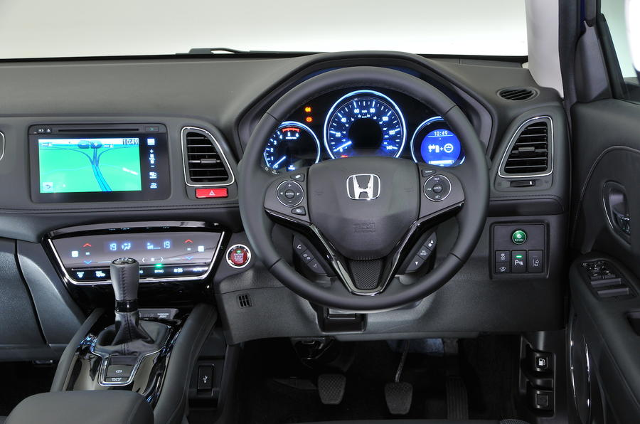 Honda HR-V dashboard
