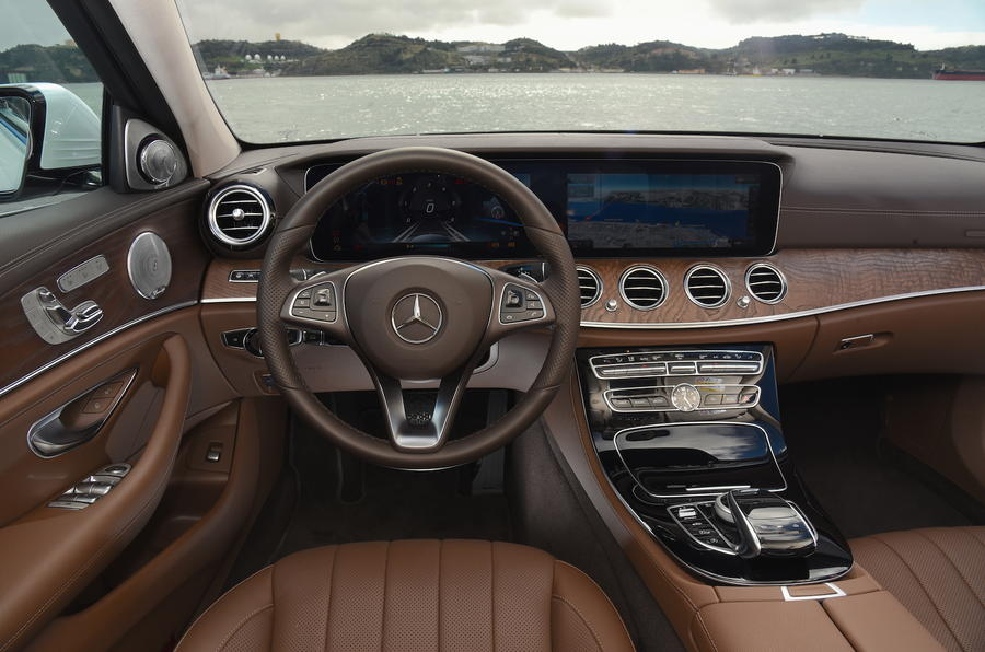 Mercedes-Benz E-Class dashboard