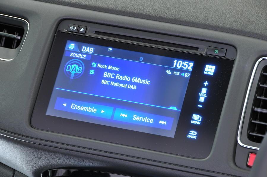 Honda HR-V infotainment system