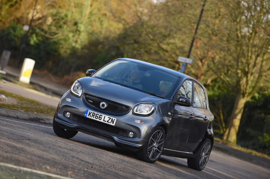 smart forfour brabus xclusive 2017 review review autocar. Black Bedroom Furniture Sets. Home Design Ideas