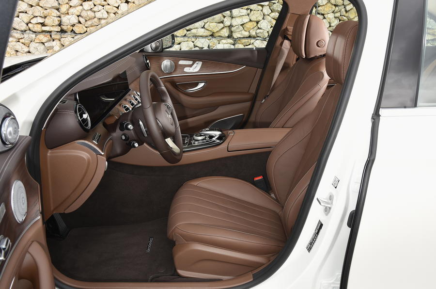 Mercedes-Benz E-Class front seats