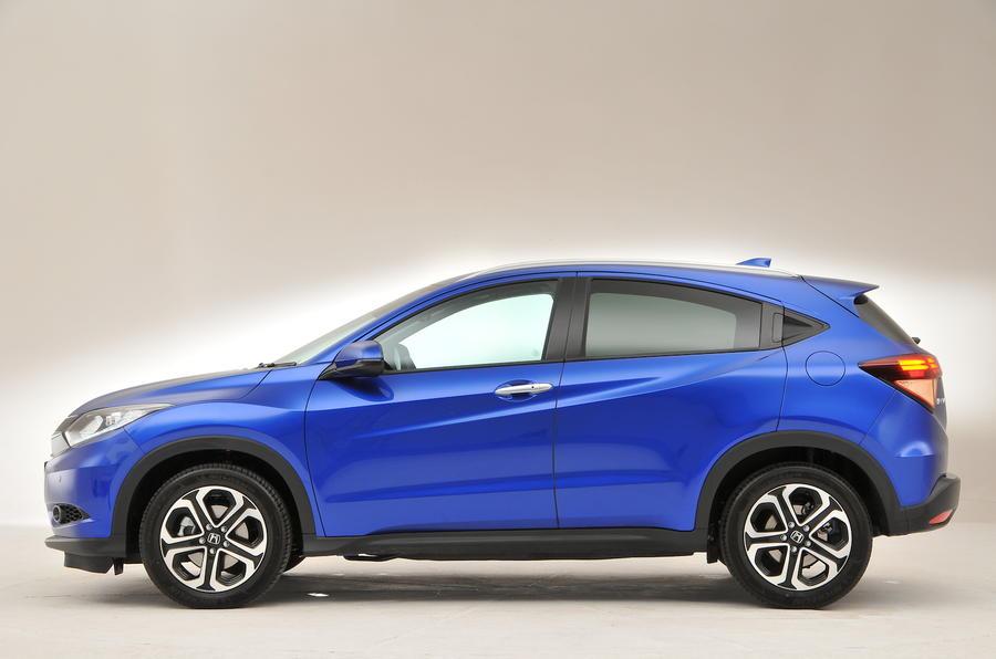 Honda HR-V side profile