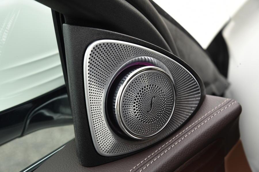 Mercedes-Benz E-Class speakers
