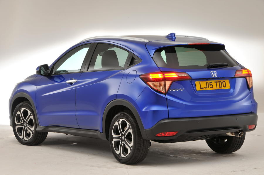 Honda HR-V rear quarter