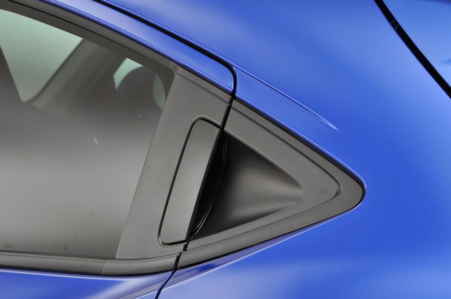 Honda HR-V rear door handle