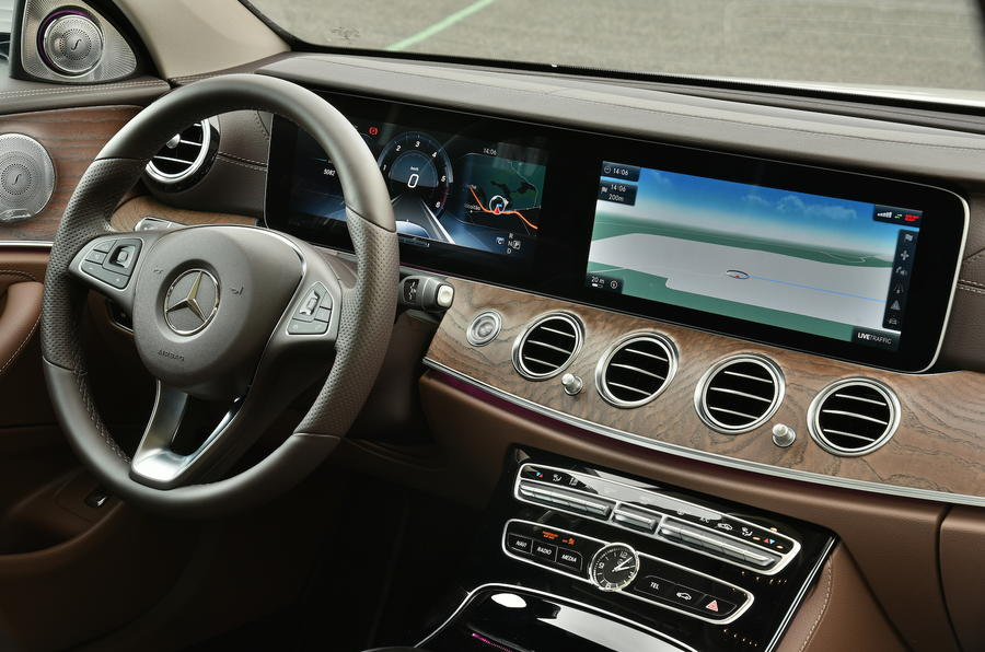 Mercedes-Benz E-Class infotainment