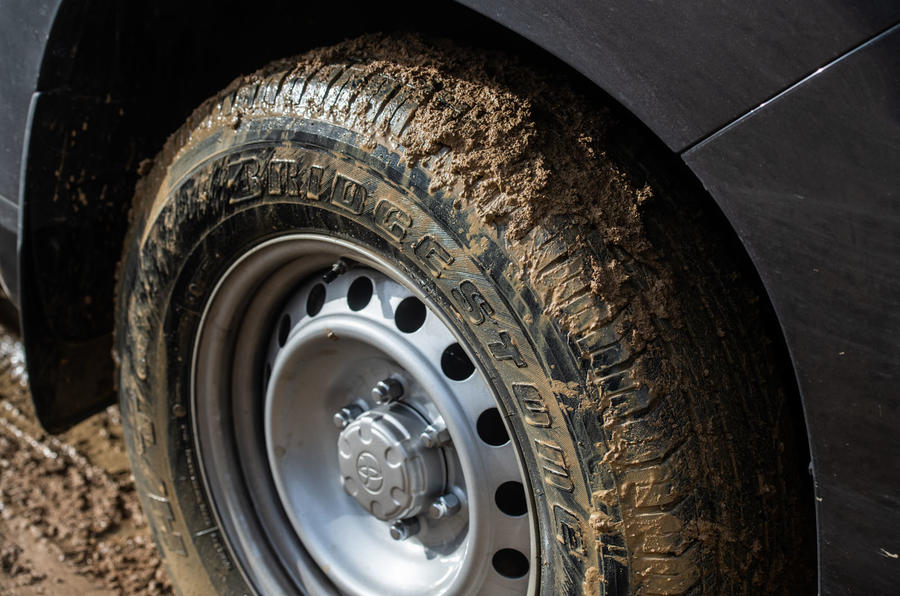 Toyota Land Cruiser long-term 2019 - muddy tyres