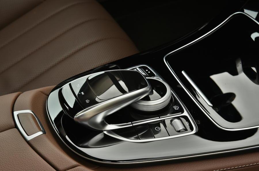 Mercedes-Benz E-Class infotainment controller
