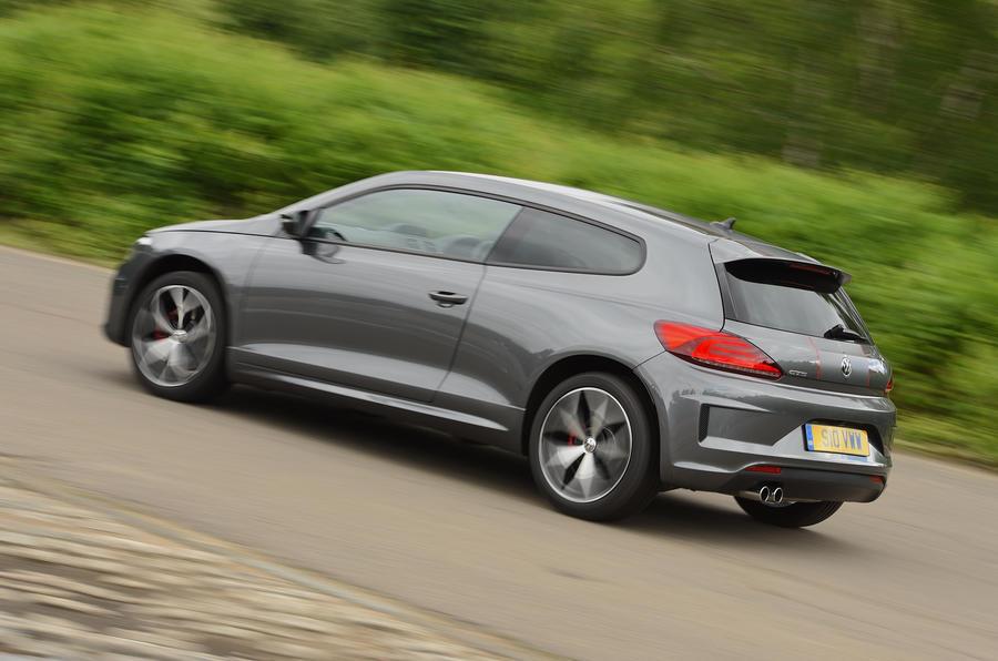 Volkswagen Scirocco GTS rear cornering