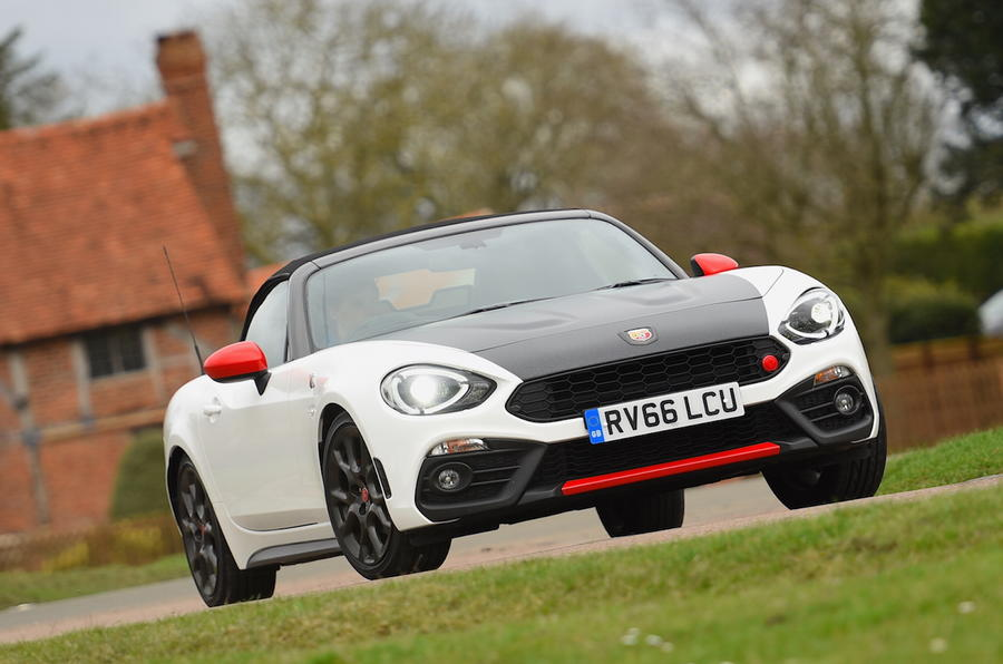Brilliant Abarth 124 Spider 2017 Review Review  Autocar