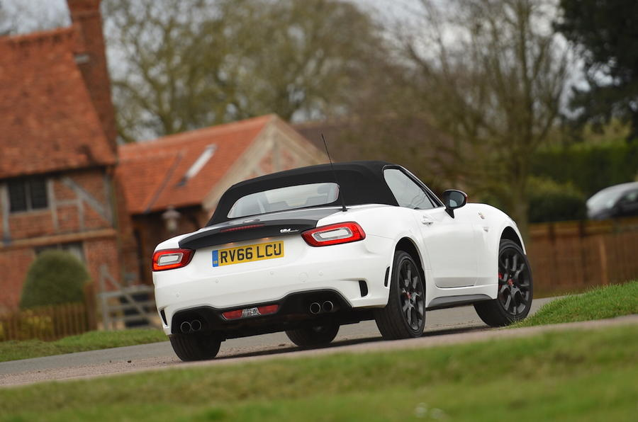 Model Abarth 124 Spider 2017 Review Review  Autocar