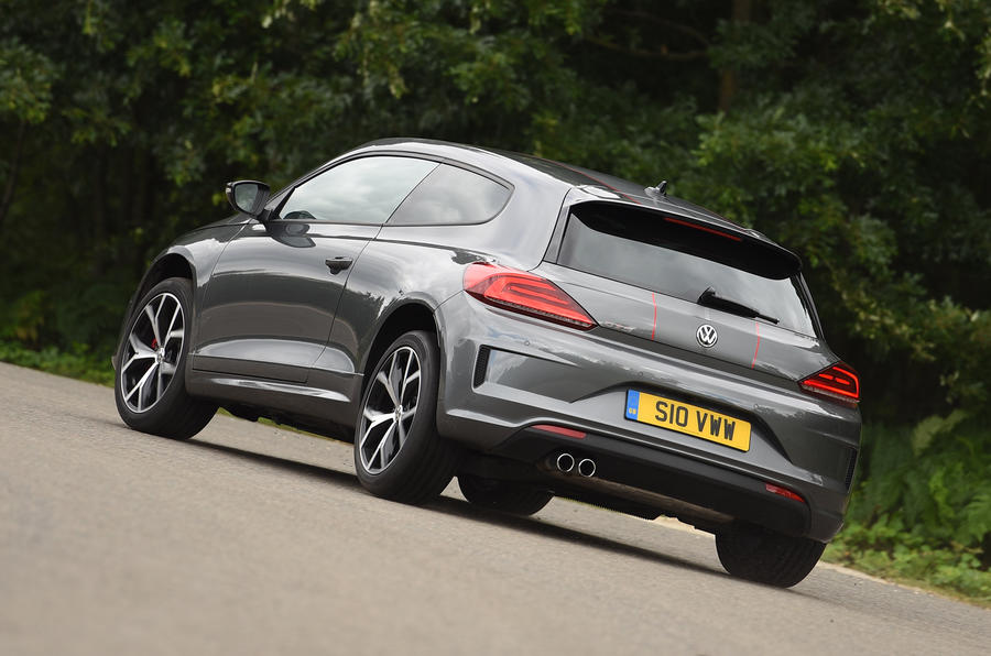 Volkswagen Scirocco GTS rear