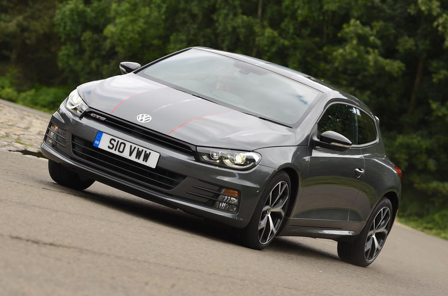 2016 volkswagen scirocco gts review review autocar. Black Bedroom Furniture Sets. Home Design Ideas