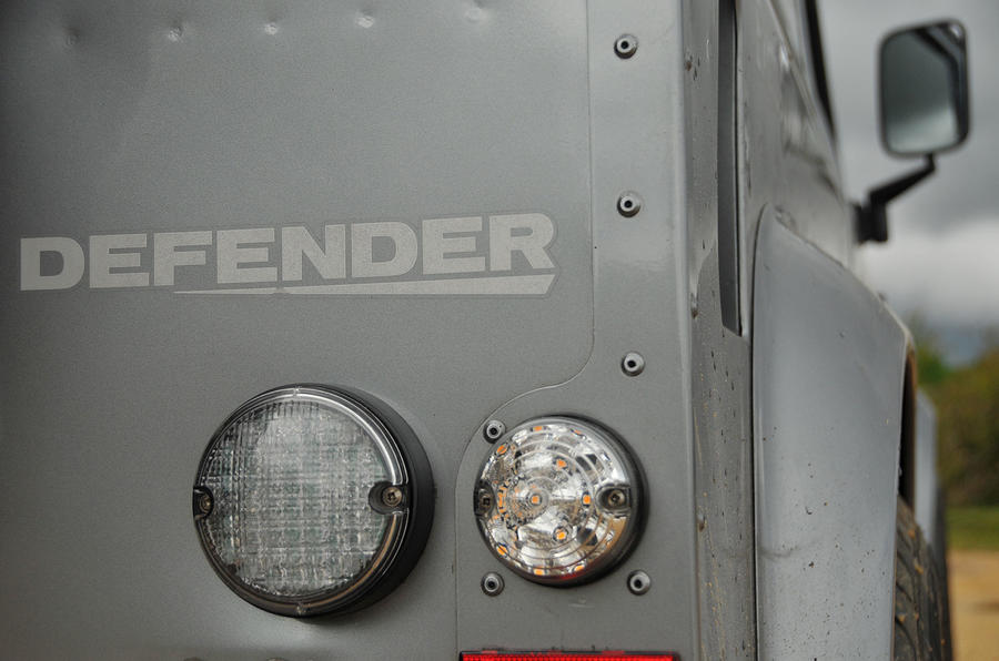 Land Rover Defender rear decal