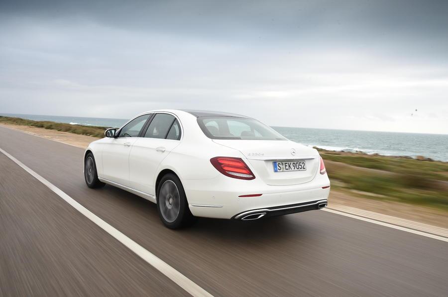 Mercedes-Benz E 220 d rear