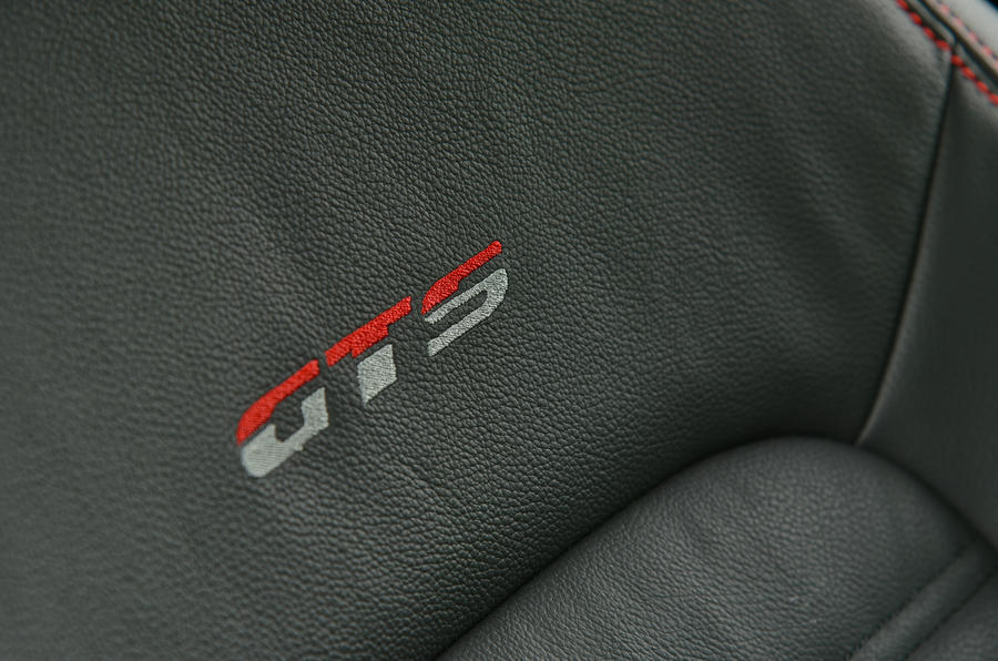 Volkswagen Scirocco GTS stitched seats