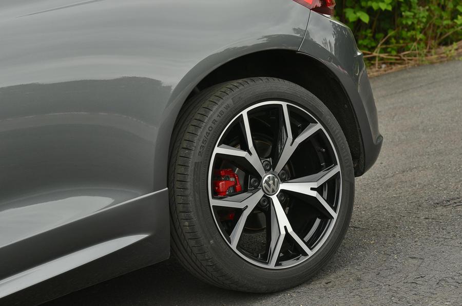 Volkswagen Scirocco GTS alloys