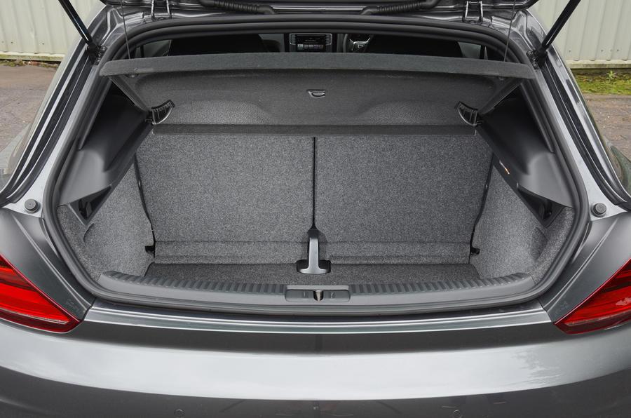 Volkswagen Scirocco GTS boot space