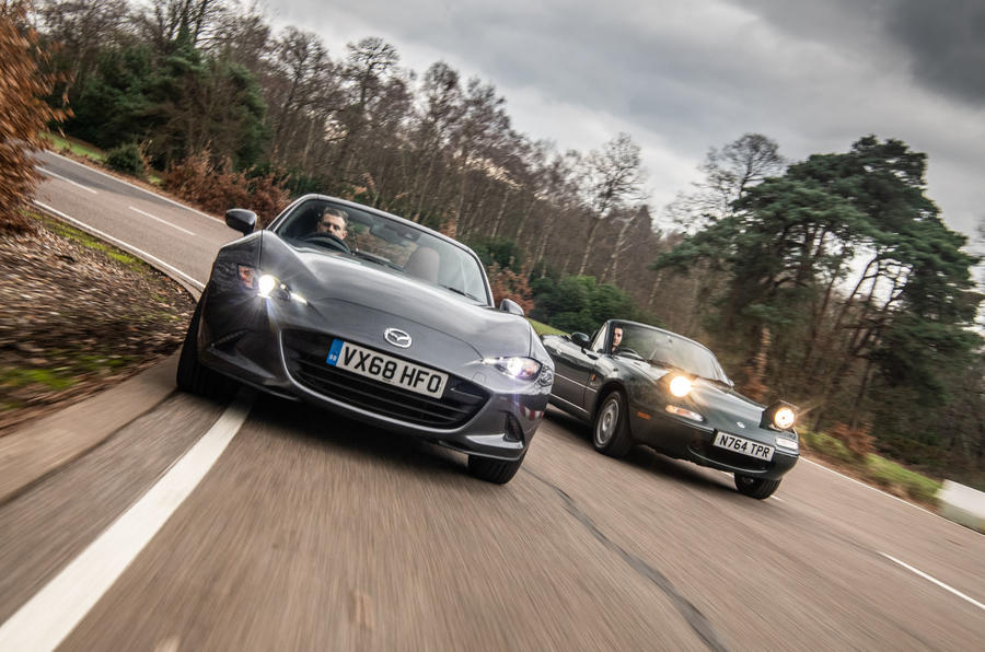 Mazda MX-5 picture special - Mk1 meets Mk4