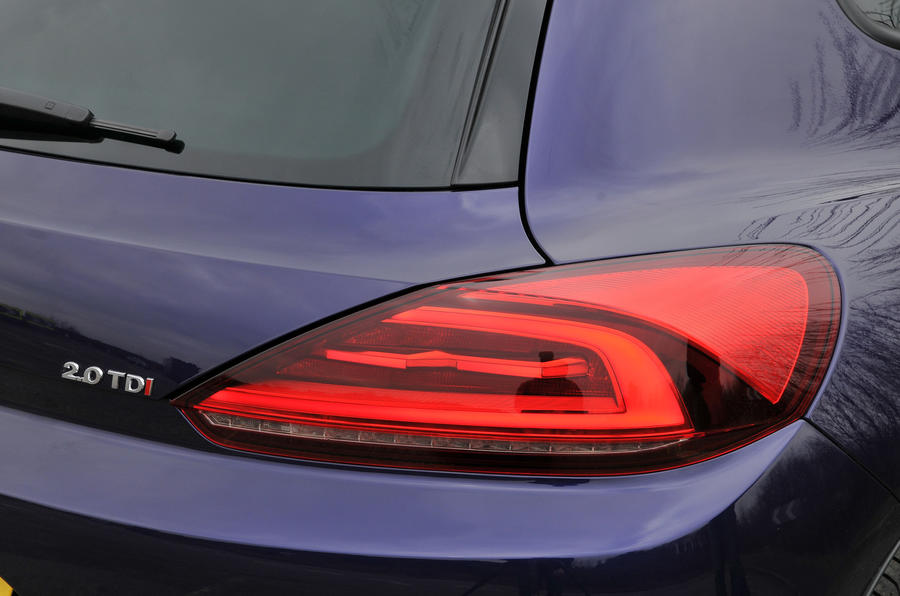 Volkswagen Scirocco rear lights