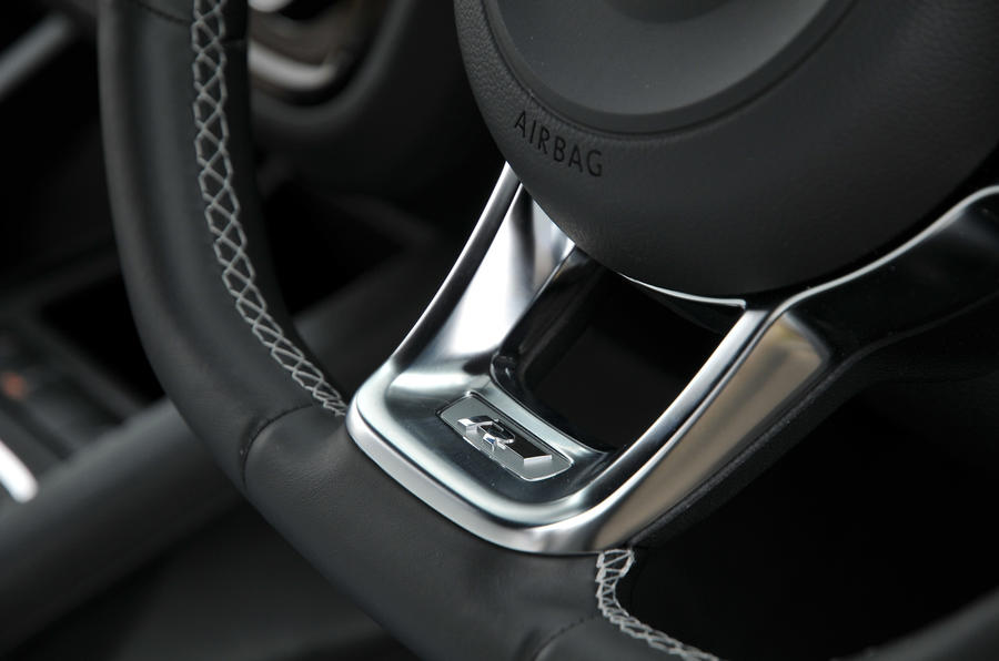 Volkswagen Scirocco R-Line badging
