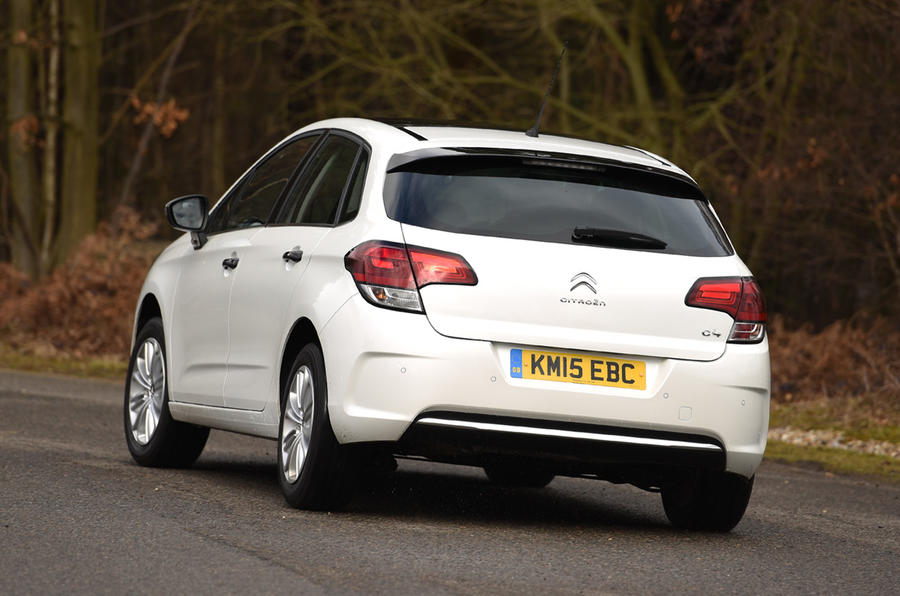 Citroën C4 1.2 Puretech 130 Flair rear
