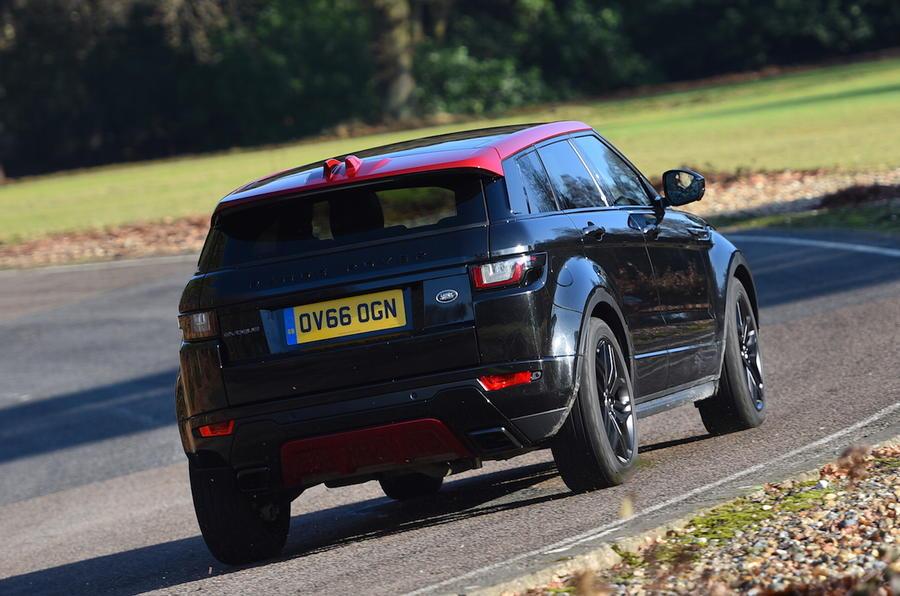 2017 range rover evoque td4 ember edition review autocar. Black Bedroom Furniture Sets. Home Design Ideas