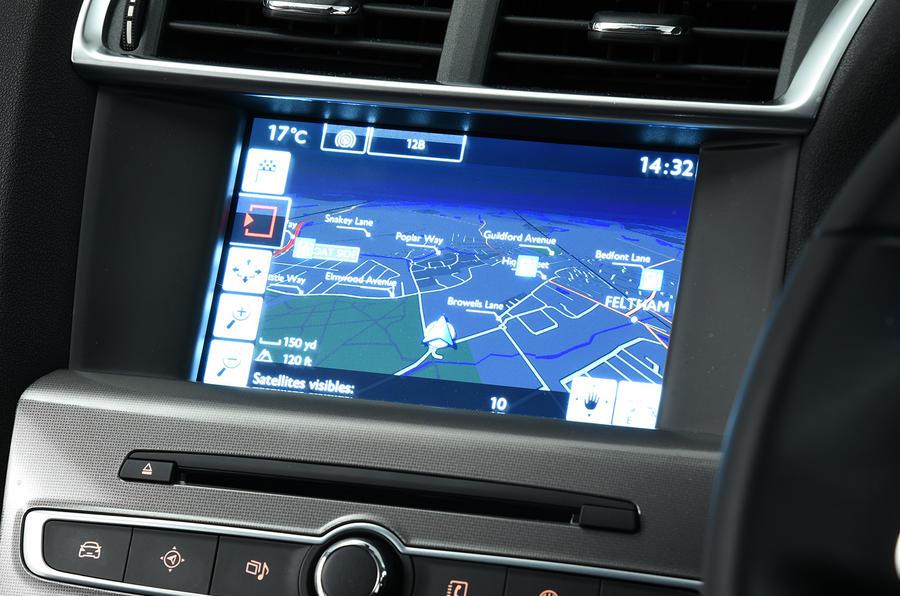 Citroën C4 infotainment