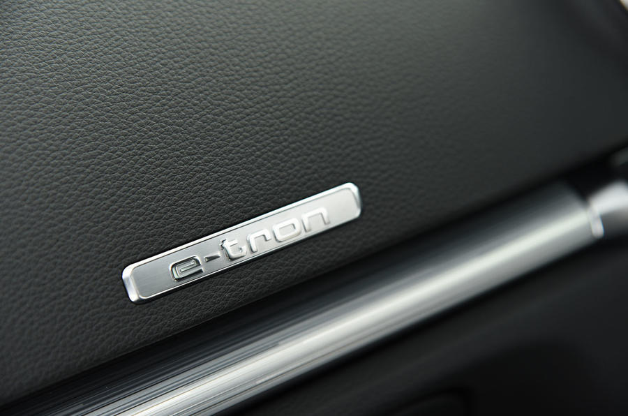 Audi A3 Sportback e-tron quattro badging