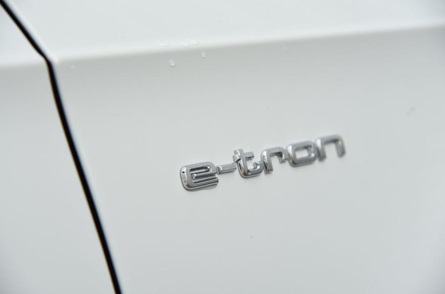 Audi A3 Sportback e-tron badging