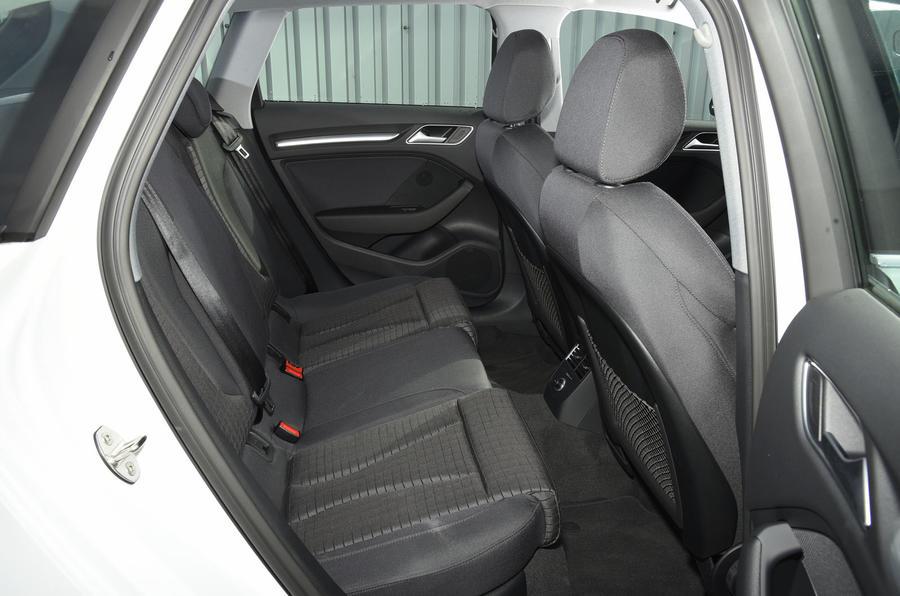 Audi A3 Sportback e-tron rear seats