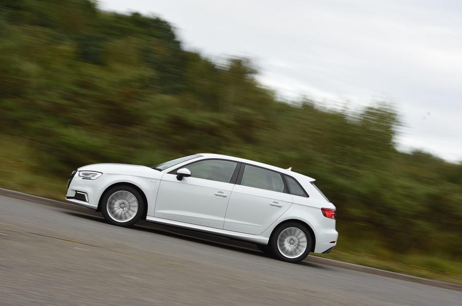 Audi A3 Sportback e-tron side profile