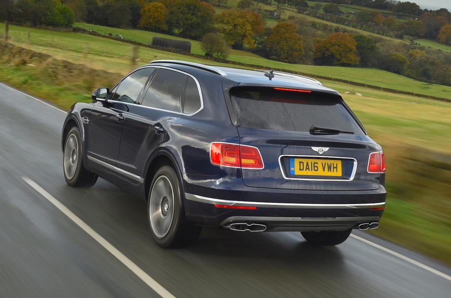 Aj95 Bentley Blue Drive Car: 2016 Bentley Bentayga Diesel Review Review