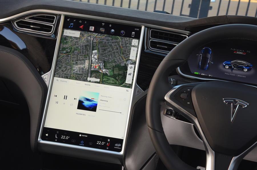 2017 Tesla Model S P100d Review Autocar