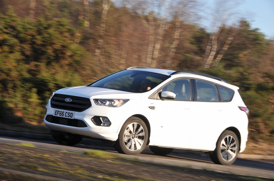 2017 Ford Kuga 2 0 Tdci 180 St Line Powershift Awd Review