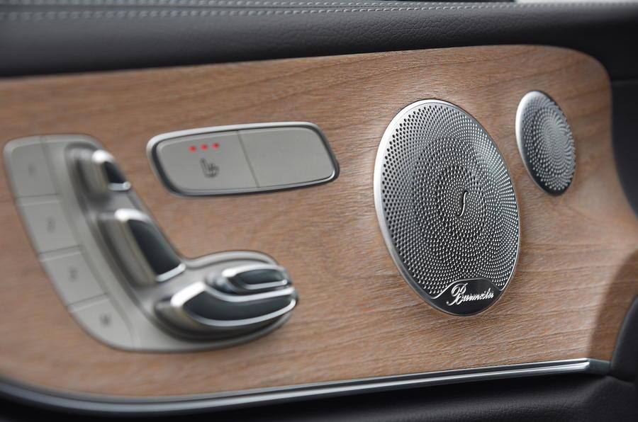 Mercedes E300 Coupe seat controls