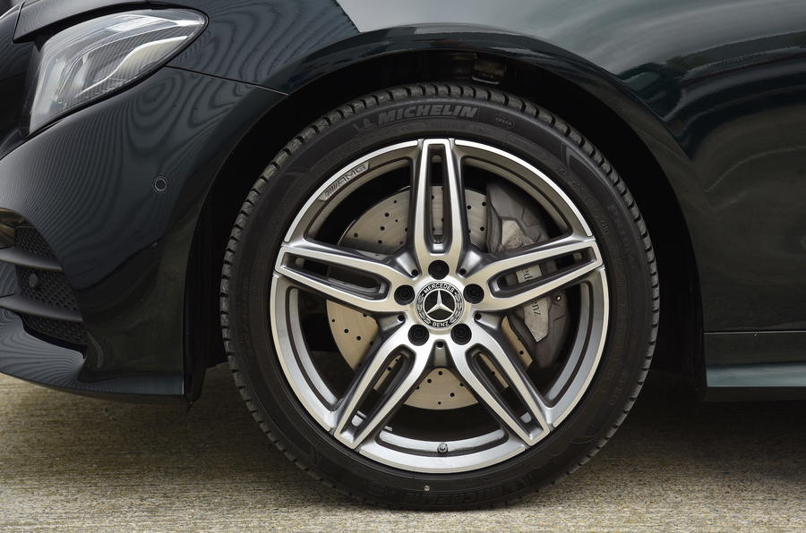 Mercedes E300 Coupe alloy wheels