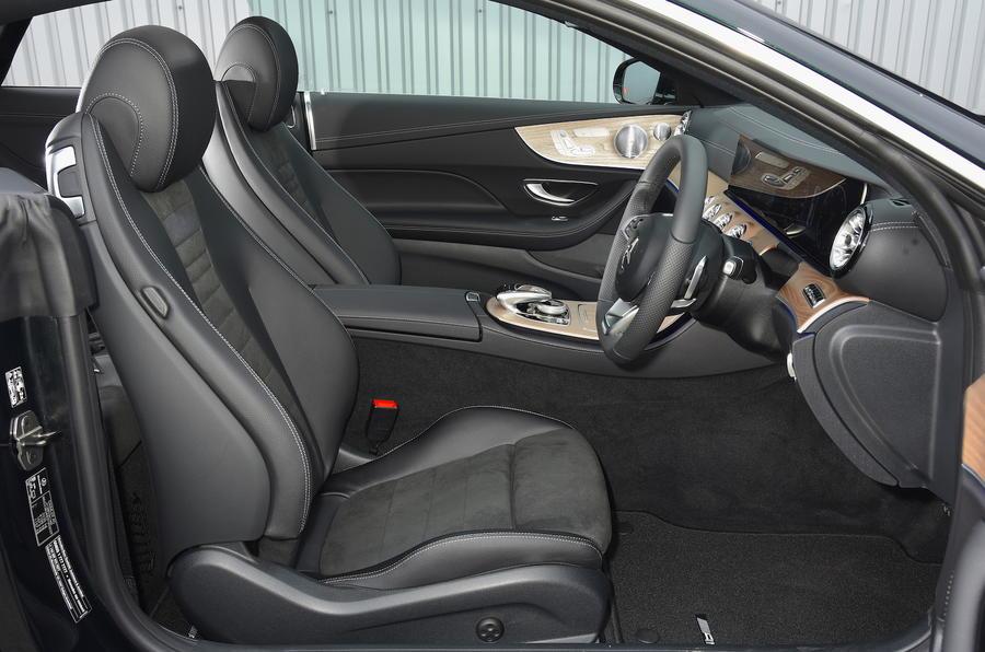 Mercedes E300 Coupe interior