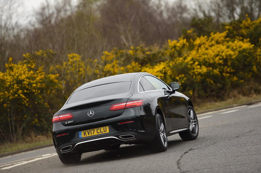Mercedes E300 Coupe rear