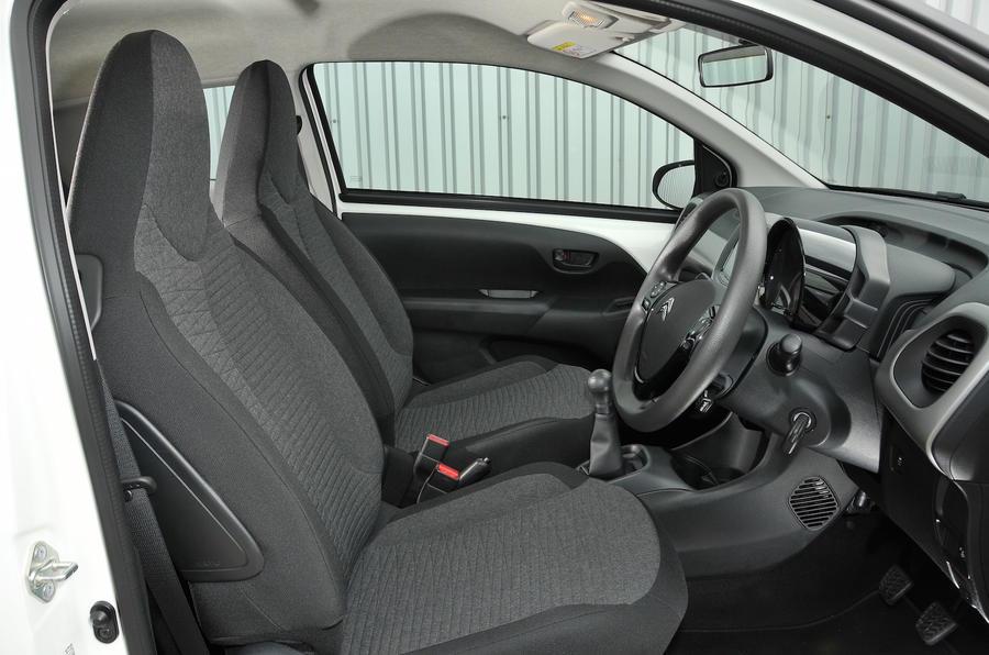 Citroen C1 interior